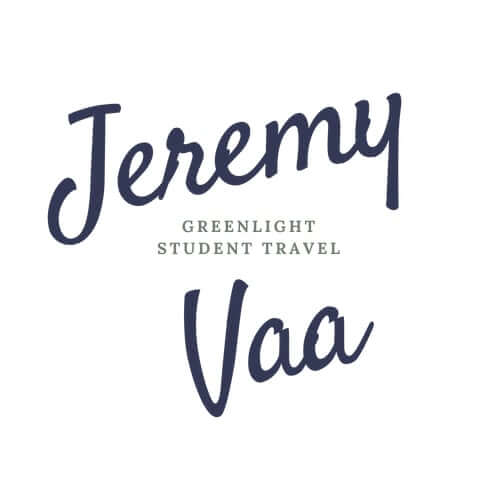 Jeremy Vaa: Founder and CEO of Green Light Student Travel